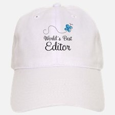 Editor (World's Best) Baseball Baseball Cap