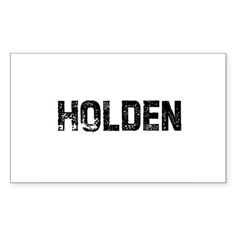 Holden Rectangle Sticker