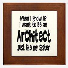 WIGU Architect Sister Framed Tile