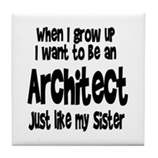 WIGU Architect Sister Tile Coaster