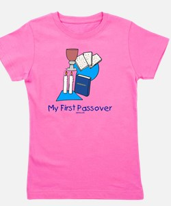 My First Passover Girl's Tee