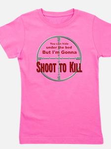 Shoot to Kill Girl's Tee