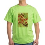 Flat California Green T-Shirt