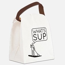 Whats SUP Canvas Lunch Bag