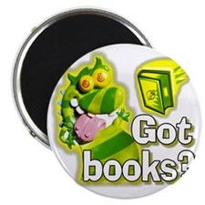 Reading Dragon BL Magnet