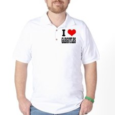 I Heart (Love) Gargoyles T-Shirt