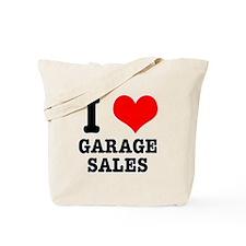 I Heart (Love) Garage Sales Tote Bag