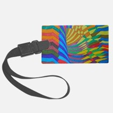Healing Colors of the Earth Luggage Tag