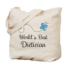 Dietician (World's Best) Tote Bag