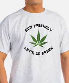 Eco Friendly Lets Go Green T-Shirt
