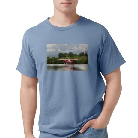 Red float plane taxiing, Alaska T-Shirt