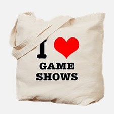 I Heart (Love) Game Shows Tote Bag