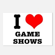 I Heart (Love) Game Shows Postcards (Package of 8)