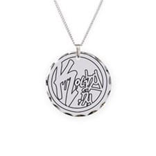 kolingstickerW Necklace Circle Charm