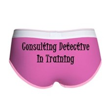 Consulting Detective In Training Women's Boy Brief