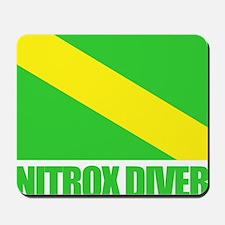 Nitrox Diver Mousepad
