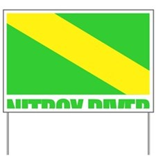Nitrox Diver Yard Sign