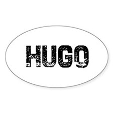 Hugo Oval Decal