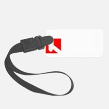 Rescue Diver 3 (white) Luggage Tag