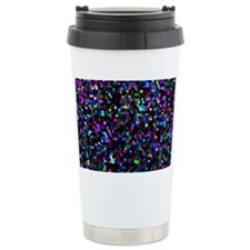 Glitter Graphic Backgro Travel Mug