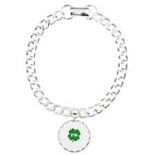 kissMeeIrish1B Charm Bracelet, One Charm