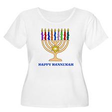 Hannukah Menorah T-Shirt