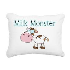 Milk Monster Rectangular Canvas Pillow