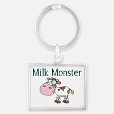 Milk Monster Landscape Keychain