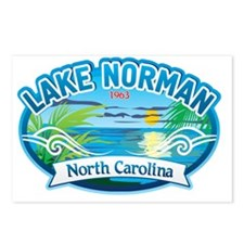 Lake Norman Waterview  Postcards (Package of 8)