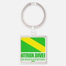 Nitrox Diver Square Keychain