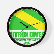 Nitrox Diver Wall Clock