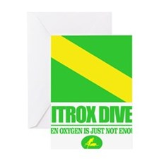 Nitrox Diver Greeting Card