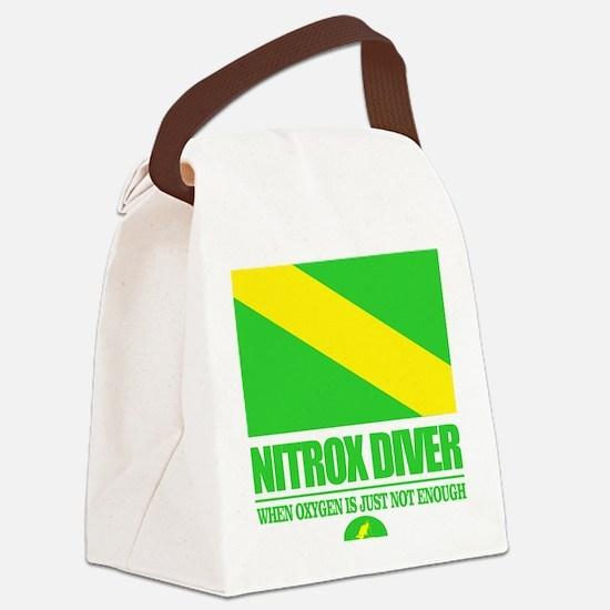 Nitrox Diver Canvas Lunch Bag