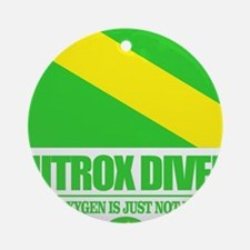 Nitrox Diver Round Ornament