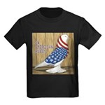 Patriotic Hobby West Kids Dark T-Shirt