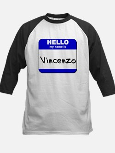 hello my name is vincenzo Tee