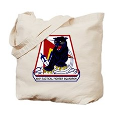 494th TFS Panthers Tote Bag
