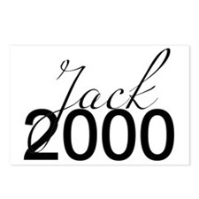 W&G - Jack 2000 Postcards (Package of 8)