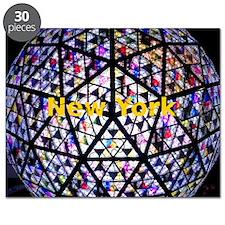NewYork_6.6X6.6_TimesSquareBall Puzzle