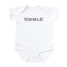 SWOLE BODYBUILDING Infant Bodysuit