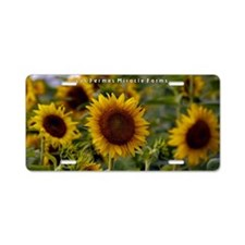 Les Fermes Miracle Farms Aluminum License Plate