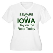Beware its IOWA D T-Shirt