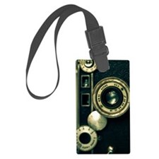 Retro Camera Luggage Tag