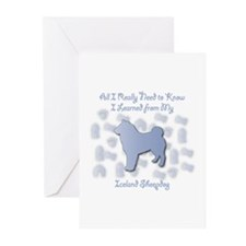 Learned Sheepdog Greeting Cards (Pk of 10)