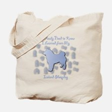 Learned Sheepdog Tote Bag
