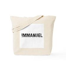 Immanuel Tote Bag