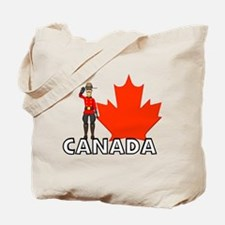 Canadian Mountie Tote Bag