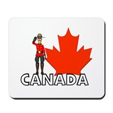 Canadian Mountie Mousepad