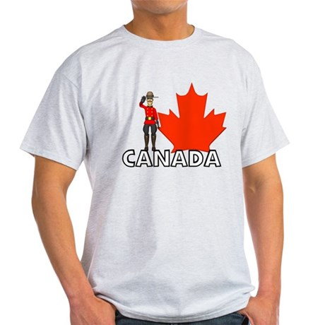 Canadian Mountie Light T-Shirt