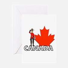 Canadian Mountie Greeting Cards (Pk of 10)